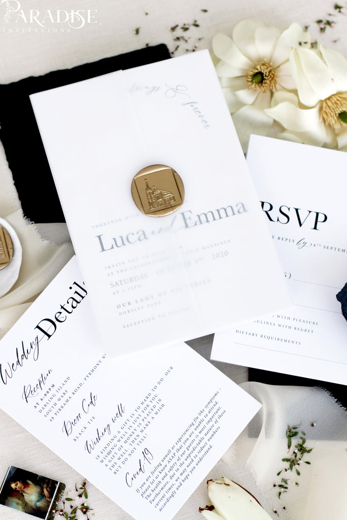 Donatella Wedding Invitation