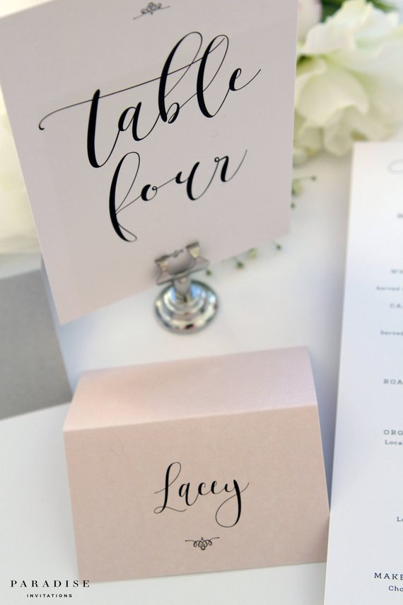 Table Numbers, Printable Table Numbers, type:stationery