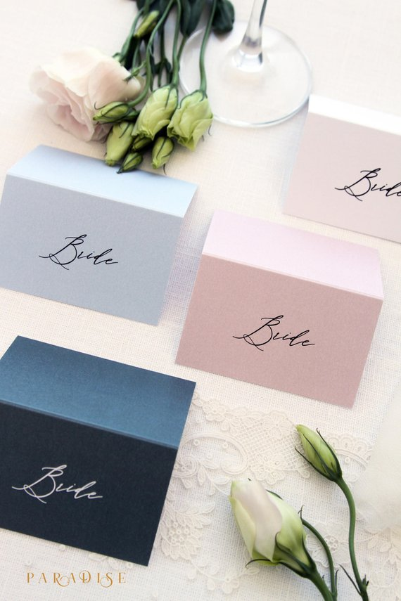 Wedding Place Cards Table Place Cards