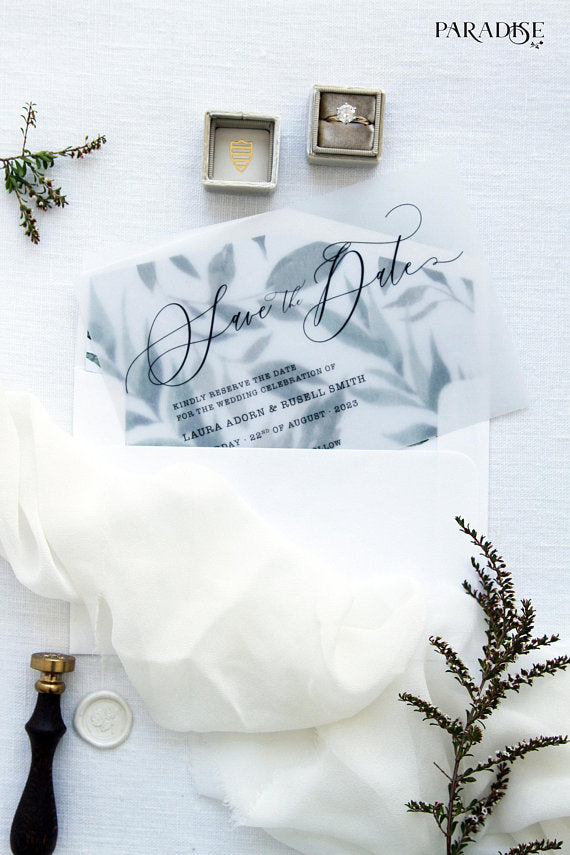 Gaelle Watercolor Save the Date