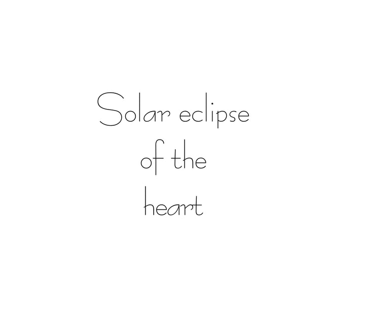 Solar Eclipse ( of the Heart ) + Supermoon