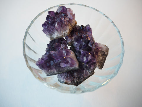 Small Raw Amethyst Cluster