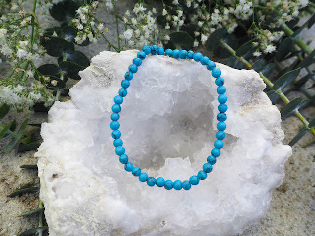 SOLD OUT- Turquoise Round Bracelet