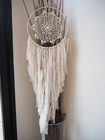 Dream Catcher- Ivory Love Doiley