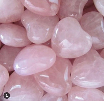 rose quartz  Heartz infused with love