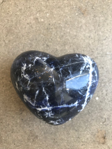 Sodalite Hearts infused with love