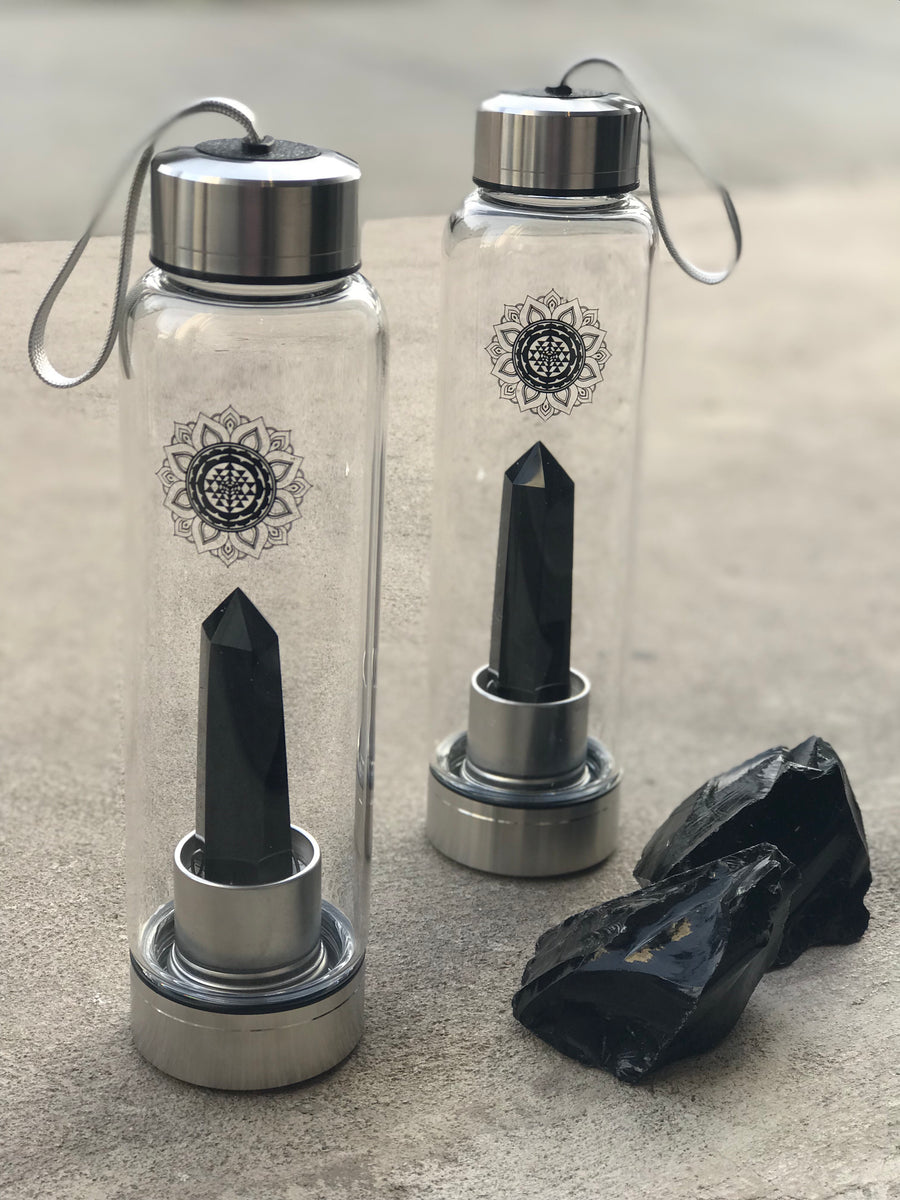 Ceremony Crystal water Bottle