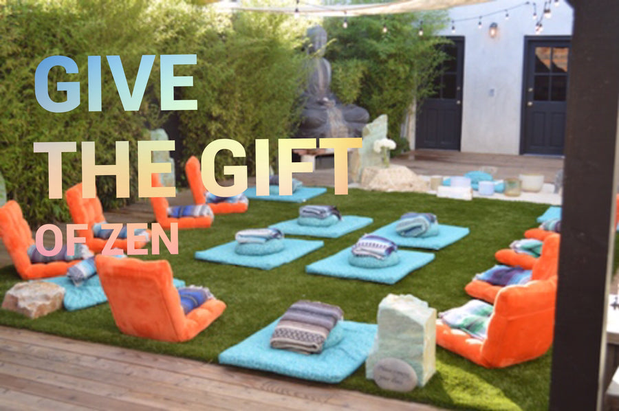 GIFT CARD - give the gift of zen