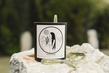 ' Cleansing ' reiki infused candle - the ritual collection- SOLD OUT