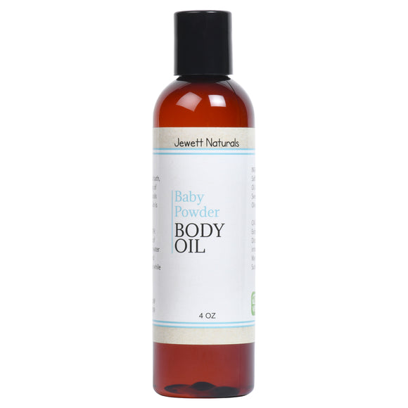 Baby Powder Body Oil 4 oz