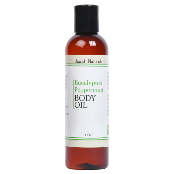 Eucalyptus Peppermint Body Oil 4 oz