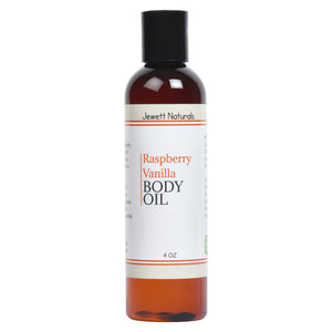Raspberry Vanilla Body Oil 4 oz