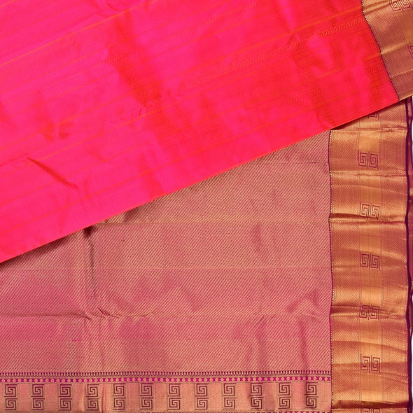 Mulberry | Pink Color Pure Silk Saree