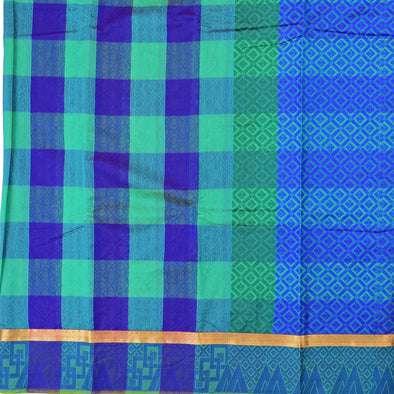 Mulberry | Blue Color  Kota Cotton Saree