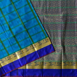 Mulberry | Blue Color Art Silk Saree