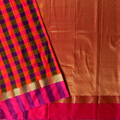 Mulberry | Art Silk Sarees