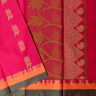 Mulberry | Pure Cotton Saree