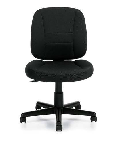 Air Mesh Fabric Task Chair - Armless