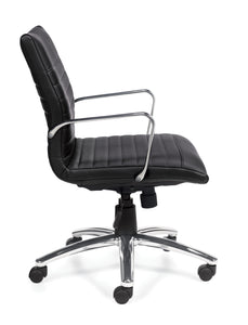 Your Style Mid Back Luxhide Executive Chair
