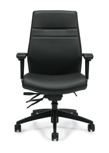 Your Style Luxhide Managers Multi-Tilter Chair