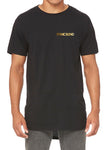 Mens short sleeve long body