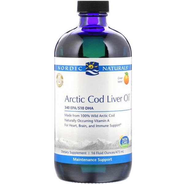 Arctic Cod Liver Oil - Orange - 16 oz