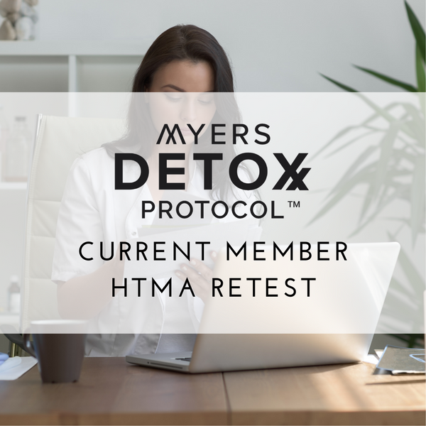 HTMA RETEST for Current Myers Detox Protocol Clients