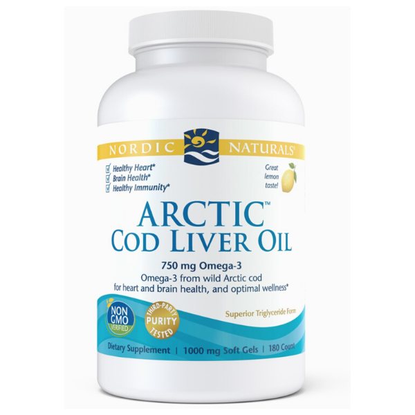 Arctic Cod Liver Oil Lemon