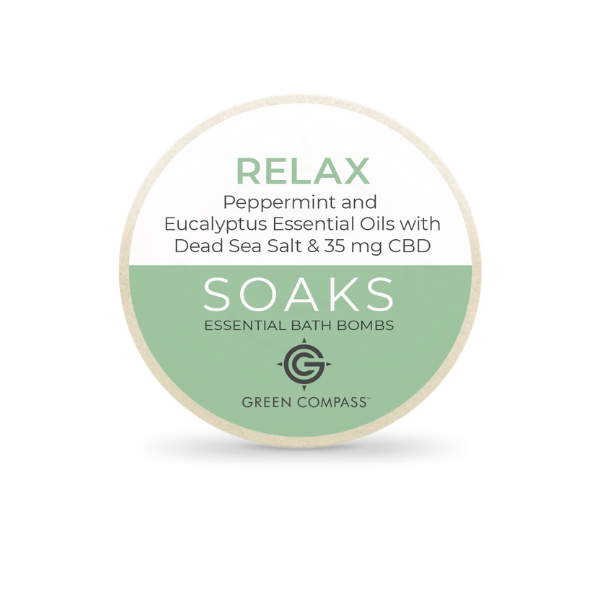 Soaks Essential Bath Bomb (Box of 2) - Relax