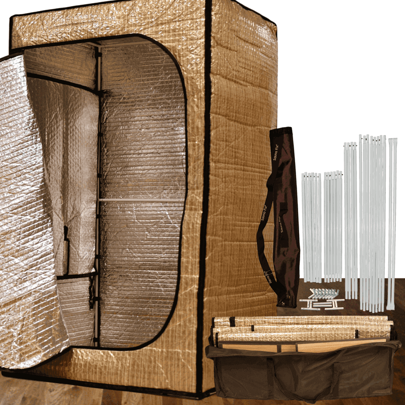 Sauna Fix Convertible Radiant Tent and NEAR INFRARED SAUNA LAMP
