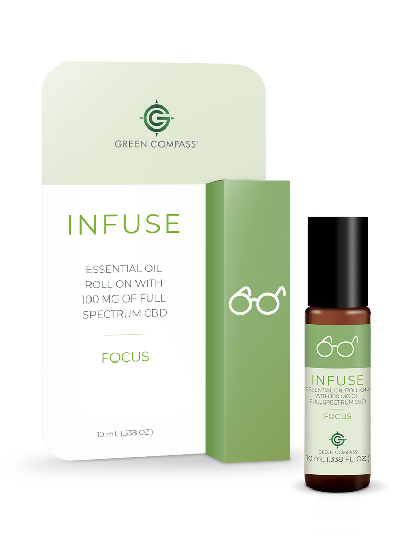 Infuse Essential Oil Roll-On - FOCUS Blend