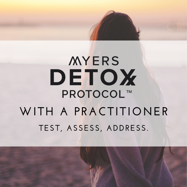 Myers Detox Protocol with a Practitioner (Promo)