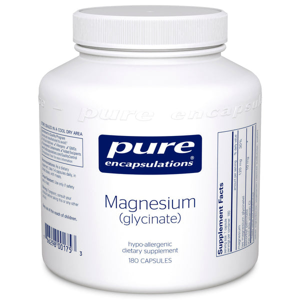 Magnesium (Glycinate) 120 mg (180 VCaps)