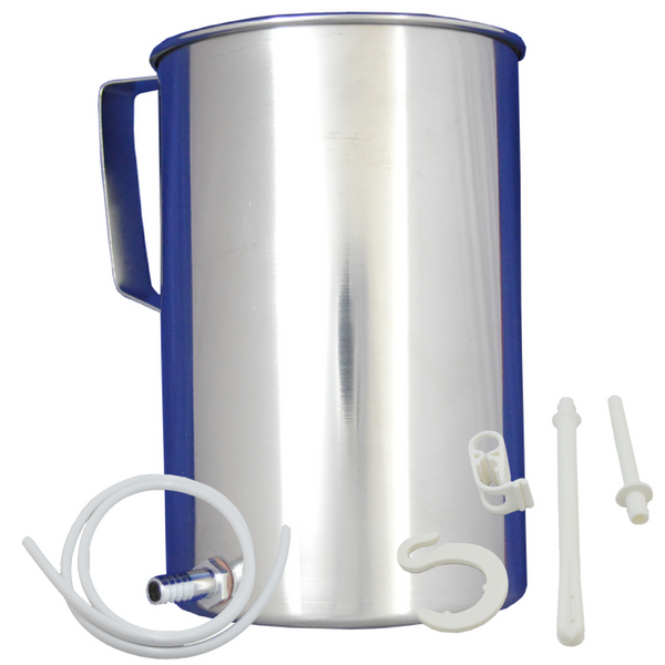 Stainless Steel Coffee Enema Bucket Kit 2 Liter
