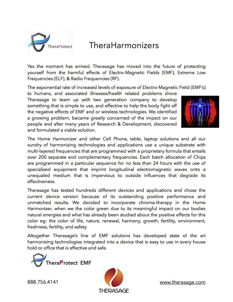 TheraEMF Protect - Home Harmonizer Protect