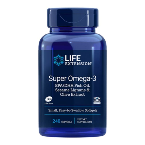 Super Omega-3 Fish Oil (240 softgels)