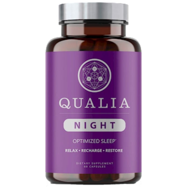 Qualia Night Optimized Sleep - 60 vegcaps