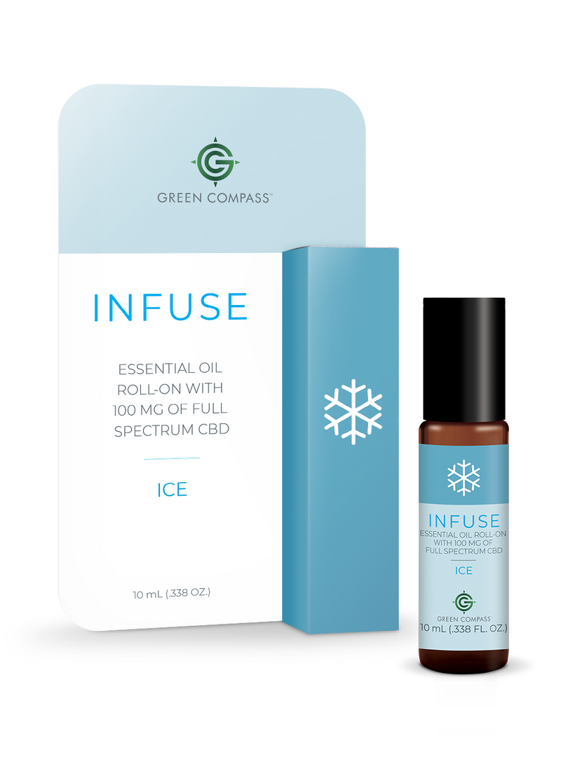 Infuse Essential Oil Roll-On - ICE Blend