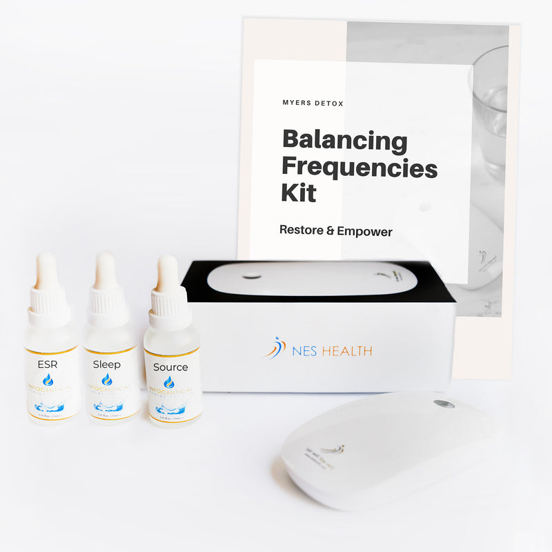 Bioenergetic Scanner & Consult + Balancing Frequencies Infoceuticals Kit