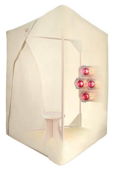 Wendy Myers Detox Near Infrared Pocket Sauna (Basswood)