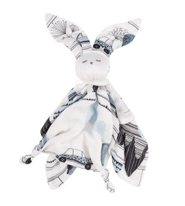 Bamboo Rabbit doudou - Cars