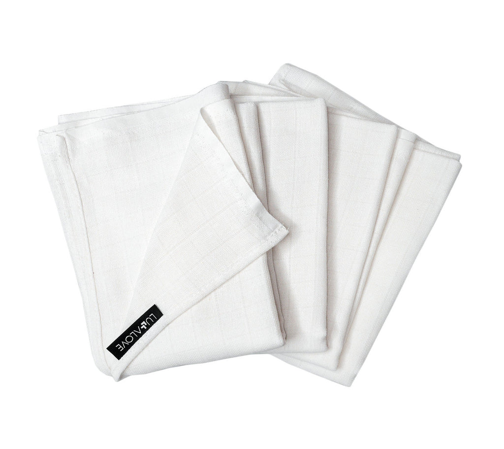 Large Muslin Cloths (set of 4)
