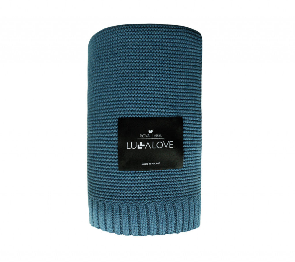 All Year Bamboo Blanket - Petrol