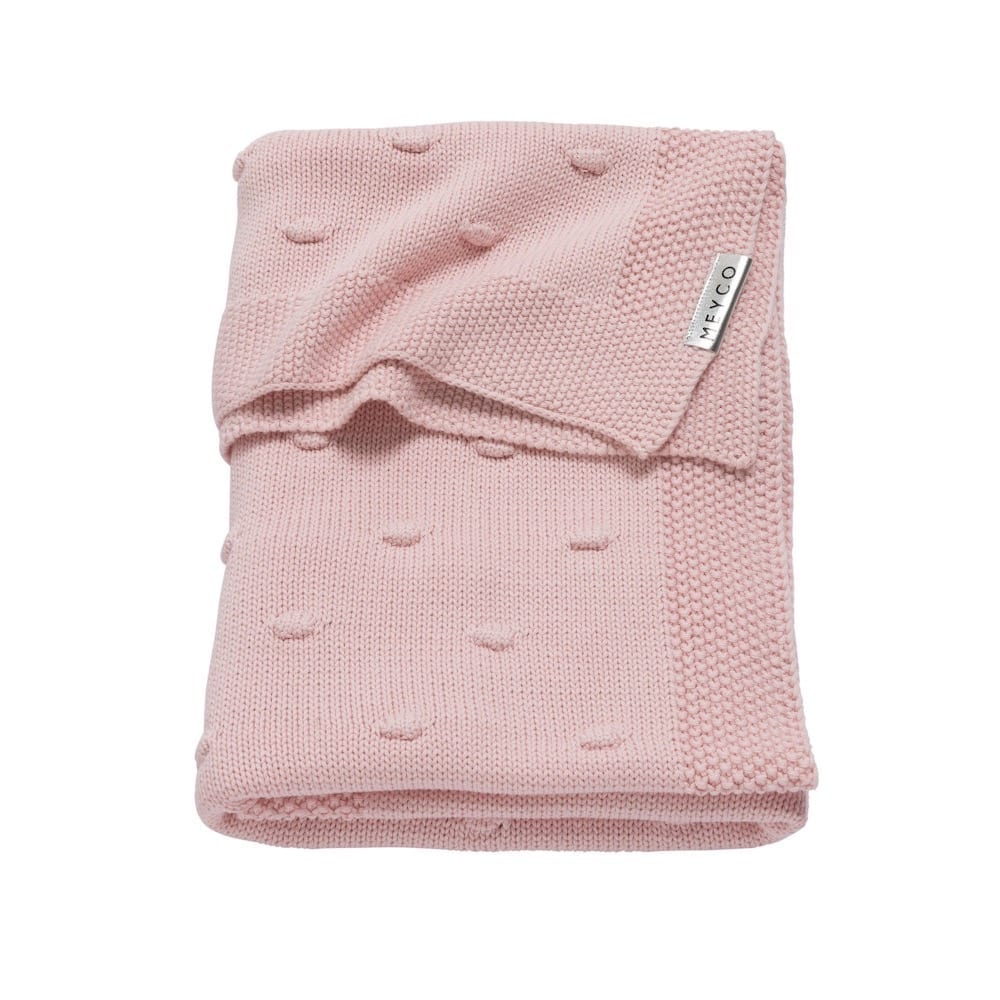 Meyco Knots Blanket - Blush