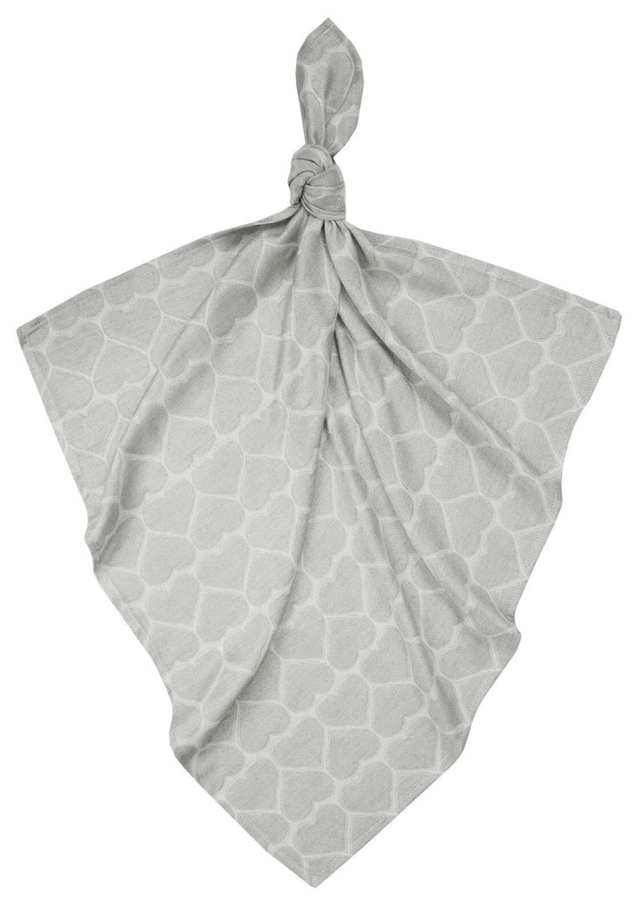 Bamboo Swaddle - Hearts Grey