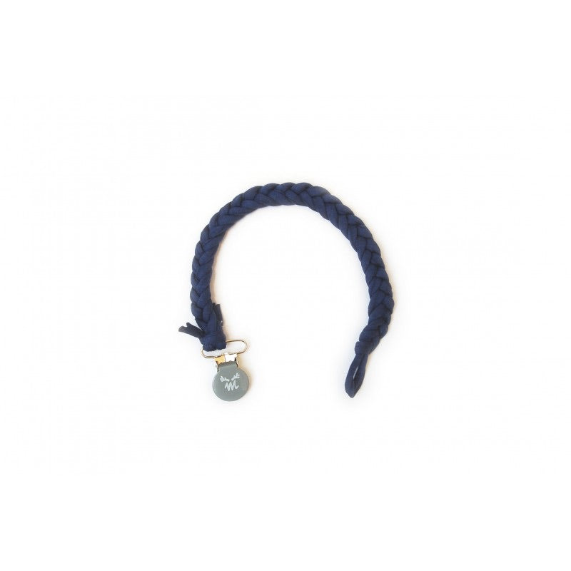 Braided Dummy Clip - Blue