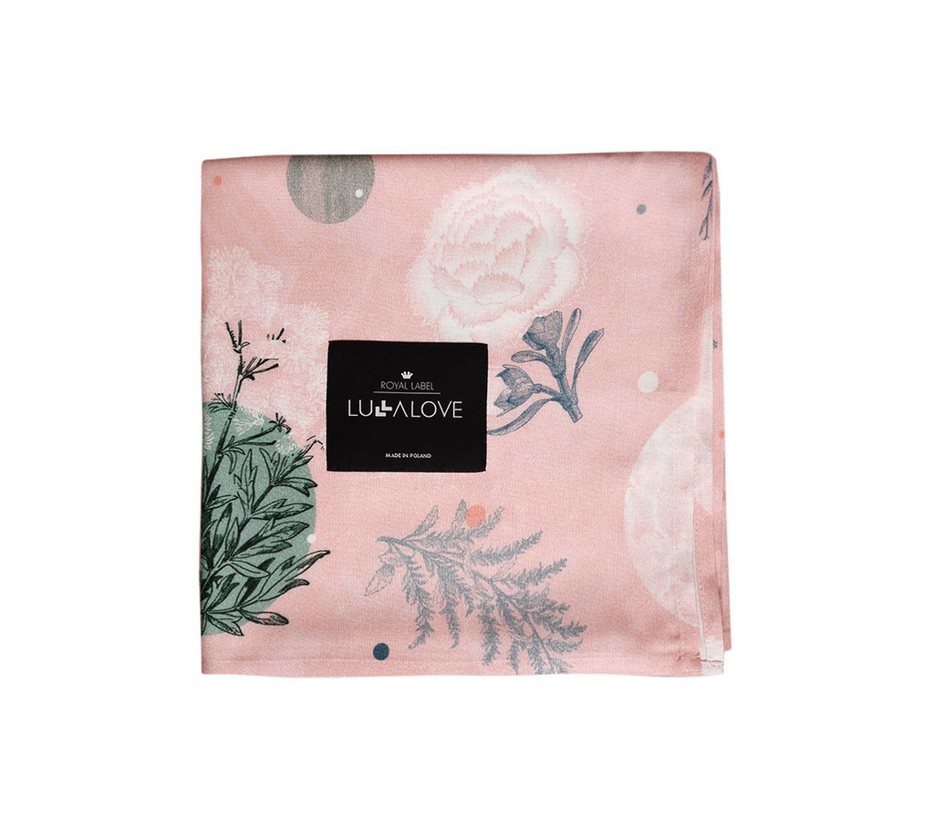 Large Bamboo Swaddle - Rose Garden