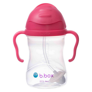 NEW B Box sippy cup - Raspberry