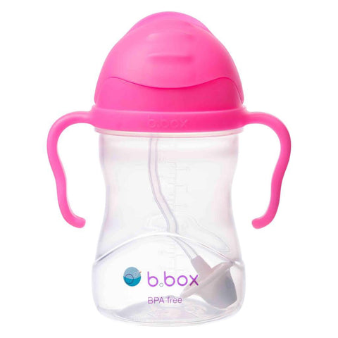 NEW B Box sippy cup - Pink Pomegranate