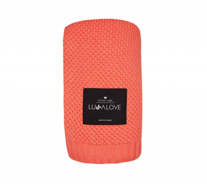 All Year Bamboo Blanket - Coral
